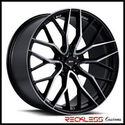 Savini 22 Svf-02 Ddt Concave Wheel Rims Fits Cadillac Cts Coupe