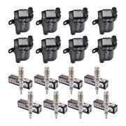 Set Of 8 Herko B045 Ignition Coils And 8 Bosch 4309 Platinum +2 Spark Plugs