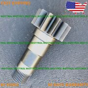 E330 Shaft Pinion Slewing Reduction Fits Caterpillar Cat Excavator 330 330l