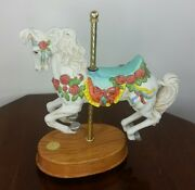 Willitts Designs Ltd Edition Heritage Collection Carousel Horse Music Box 790
