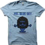 Mr Blue Sky Inspired By Jeff Lynneand039s Elo Printed T-shirt 9113