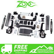Zone Offroad 6 Suspension System Lift Kit For 09-11 Dodge Ram 1500 4wd D2n/d15n