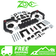 Zone Offroad 4 Combo 2.5 Lift Kit 1.5 Body Lift For 09-11 Dodge Ram 1500 4wd