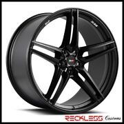 Savini 20 Svf-03 Black Concave Wheel Rims Fits Ford Mustang Gt Gt500