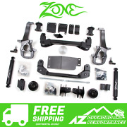 Zone Offroad 4 Suspension System Lift Kit For 13-18 Dodge Ram 1500 4wd Truck