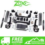 Zone Offroad 4 Suspension System Lift Kit For 09-11 Dodge Ram 1500 4wd D1n/d23n