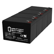 Mighty Max 12v 9ah Battery Replacement For Humminbird Fishfinder 570 - 4 Pack