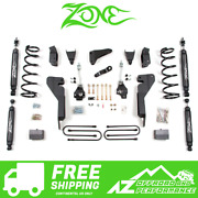Zone Offroad 6 Suspension System Lift Kit For 03-07 Dodge Ram 2500 3500 Hd