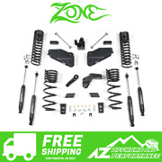 Zone Offroad 5.5 Suspension System Lift Kit For 14-18 Dodge Ram 2500 Gas D68n