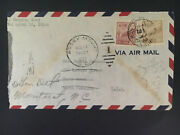 1952 Shanghai China Airmail Cover To Rocky Mount Nc Usa