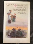 Mint Germany Picture Postcard Ww1 Red Cross Hungarian Hiles Society