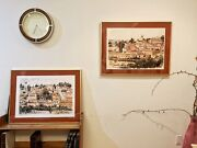 Gorgeous Pair Of Arie Azene Ltd Signed Lithographs Of Jerusalem