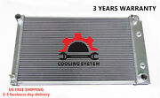 All Aluminum Radiator Fit 3 Rows Chevy Pontiac Buick Many Gm Cars 28 Wide Core