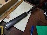 Antique English Large Pattern Makers Gouge Chisel Superb Condition Gilpin