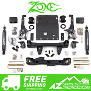 Zone Offroad 6 Lift Kit Suspension System For 05-15 Toyota Tacoma Truck 4wd T3n