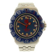 Tag Heuer Wa1210 Formula 1 Navy/red Dial + Bezel Stainless Steel Midsize Watch