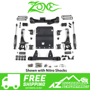 Zone Offroad 4 Lift Suspension System Fits 2016 Toyota Tacoma 4wd T8n