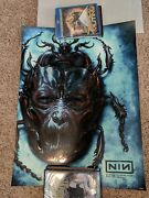Nine Inch Nails 10/27/18 Chicago Foil Variant Poster 11/25 From Aragon