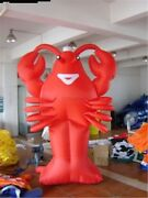 New With Blower Giant Inflatable Lobster Advertising 6m Restaurant Promotion Cb
