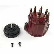 Pertronix D600711 Flame Thrower Cap And Rotor Kit 8 Cylinder Male Hei Style