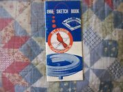 1966 St Louis Cardinals Media Guide Yearbook Press Book Program Bob Gibson Ad