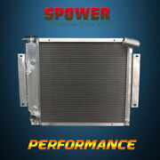 3-row/core Aluminum Radiator For International Scout Ii Pickup At Mt 70-81