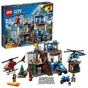 Lego City Mountain Police Command Base 60174 New From Japan