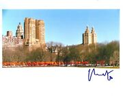 Christo Javacheff Signed The Gates Central Park Ny 8x10 Photo. In Person Proof