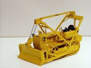 Caterpillar D4 2t W/ Letourneau Cable Blade And Hyster Winch - 1/16 - Spec Cast