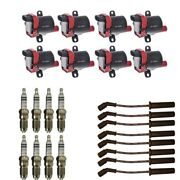 New Ignition Coil Pack 8 Herko Coils + 8 Bosch Spark Plugs + 8 Acdelco Wires