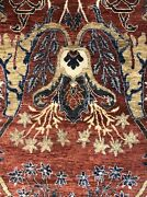 Amazing Arts And Crafts - Modern Indian Rug - Contemporary Carpet - 8.1 X 10.1