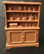 Very Rare 1952 Marx Roy Rogers Rodeo Ranch Playset Cupboard