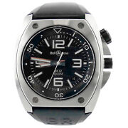 Bell And Ross Marine Br02-20 Diver Stainless Steel Black Dial Mens 100m Auto Watch