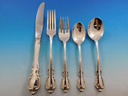 Legato By Towle Sterling Silver Flatware Set For 8 Service 48 Pieces With Chest