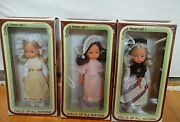 Dolls Of All Nations - Lot Of 3 - Sweden Italy Switzerland