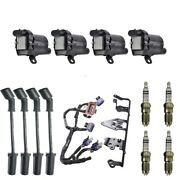 4 Herko Coils +4 Bosch Spark Plugs +4 Herlux Wires +1 Acdelco Bracket And Harness