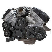 Black Ford Coyote 5.0 Serpentine System Ac Power Steering And Alternator