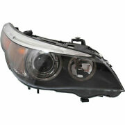 Hid Head Lamp Lens And Housing Passenger Side Fits Bmw 5-series 525i Bm2503125