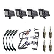 4 Herko Coils +4 Bosch Spark Plugs +4 Acdelco Wires +1 Acdelco Bracket And Harness