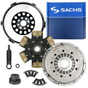 Sachs Cm Stage 4 Clutch Kit+solid Prolite Flywheel For 2001-2006 Bmw M3 E46 S54