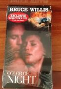 Color Of Night Vhs Bruce Willis, Jane March Directors Cut