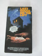 Last House On The Left [vhs]