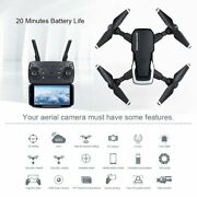 Rc Drone Quadcopter With 5mp Hd Camera Wifi 4ch 6-axis Foldable Altitude Hold Uk