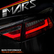 Audi A5 S5 Rs5 09-12 Smoked Red 3d Bar Led Tail Lights -for Led Stock Light Only