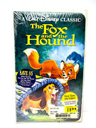 The Fox And The Hound Vhs Walt Disney Black Diamond 1994 Classic Sealed Unopened