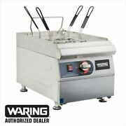 Waring - Wpc100 - 3 Gal Electric Pasta Cooker 1 Year Warranty Blow Out