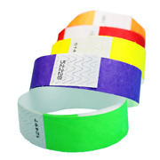 3/4inch Tyvek Wristbands 5,000 Pickacolor- Bars, Clubs, Parties, Events,security