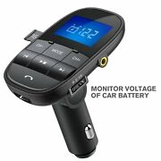 Bluetooth Wireless Fm Transmitter In-car Adapter Hands Free Kit W Usb Charger