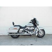 Dandd Fat Cat 21 Full Exhaust Chrome Straight Cut Louvered Baffle Harley Touring