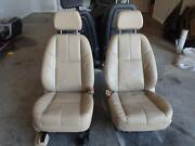 2007-2014 Chevrolet Tahoe Front Seat Tan Leather Power Oem